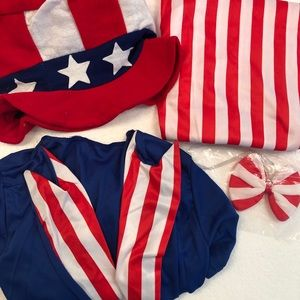 Other - Uncle Sam Child Costume Size 12/14